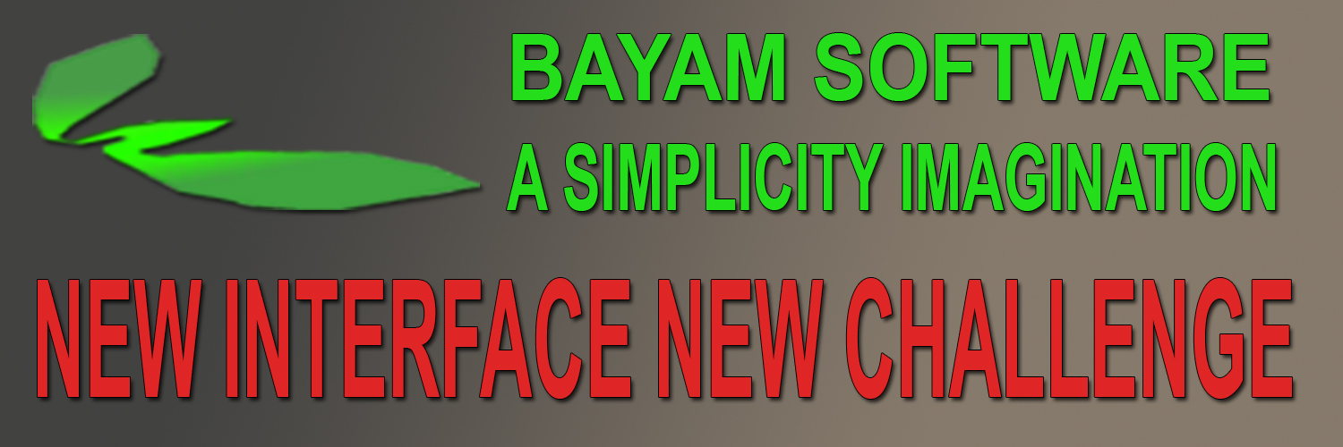 Bayam Software New Interface New Challenge