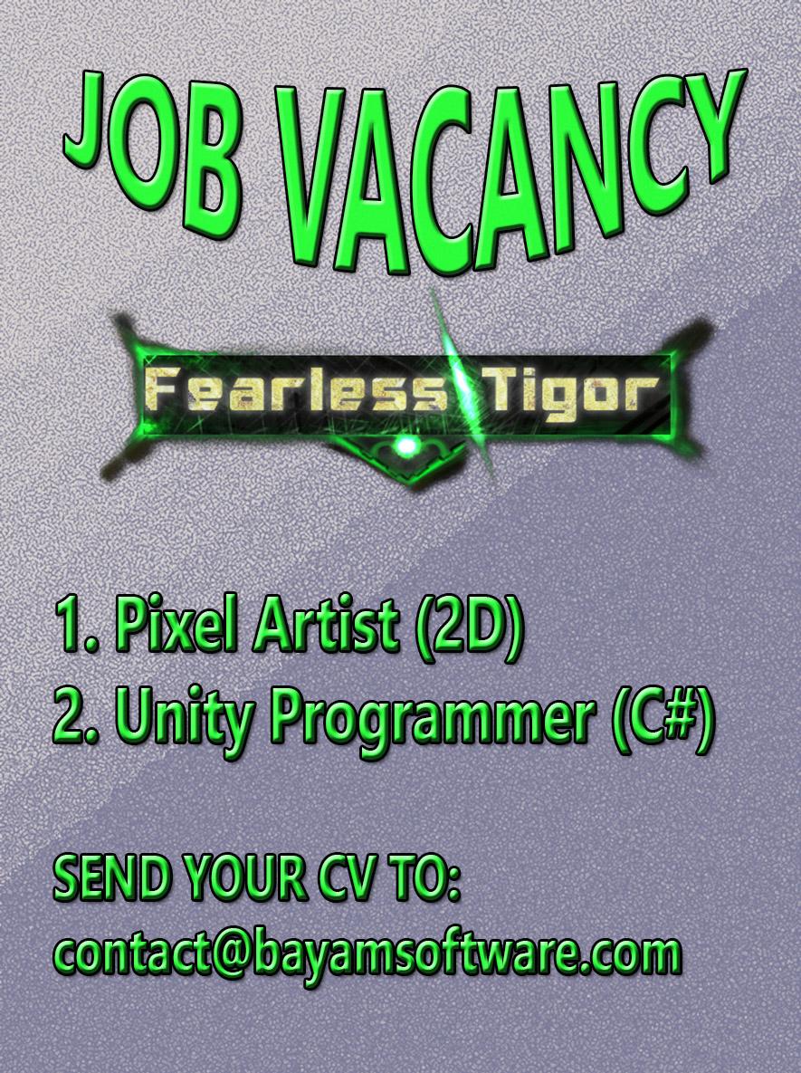 Fearless Tigor Job