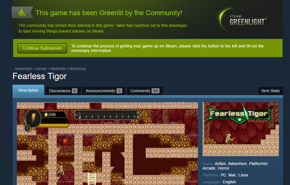Fearless Tigor Has Been Greenlit